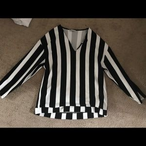 Black and white Zara sweater!